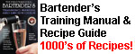 Bartender Handbook and Drink Recipe Guide